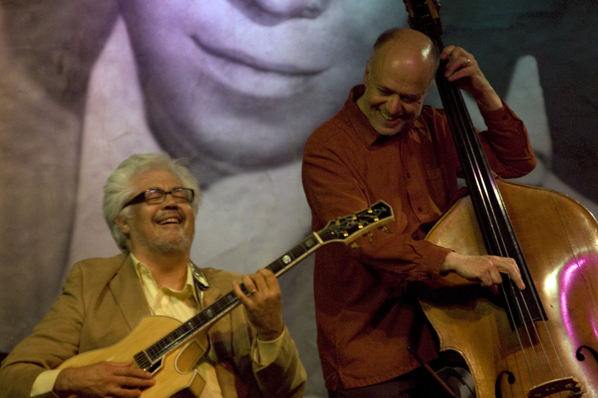 Larry Coryell and Larry Gray