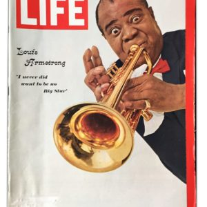 Life Magazine 1966 Louis Armstrong