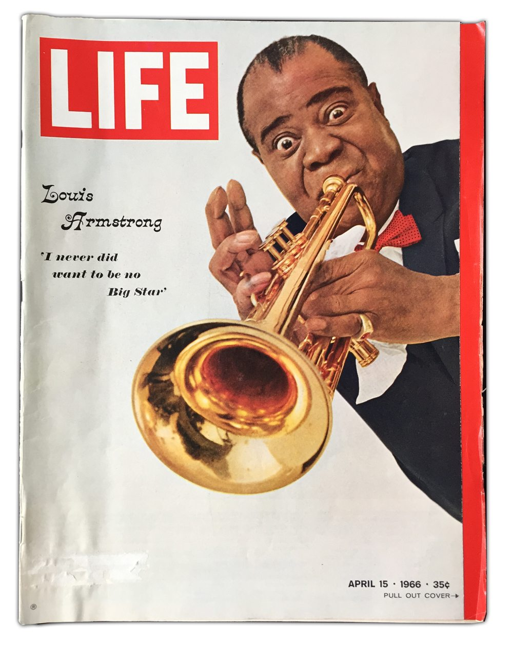 Life Magazine 1966 Louis Armstrong