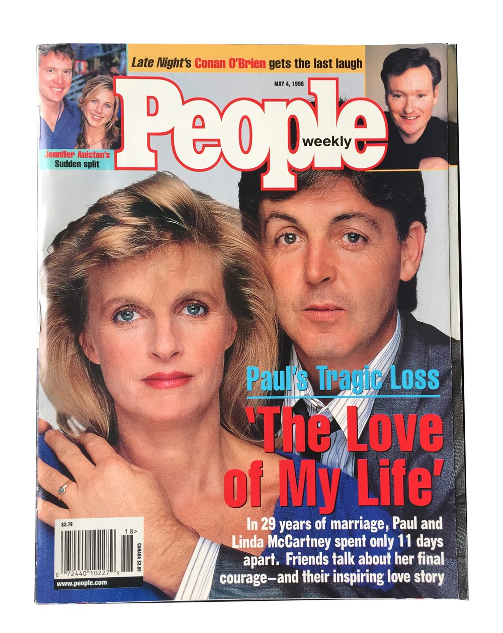 People Weekly Magazine 1998 Paul McCartney