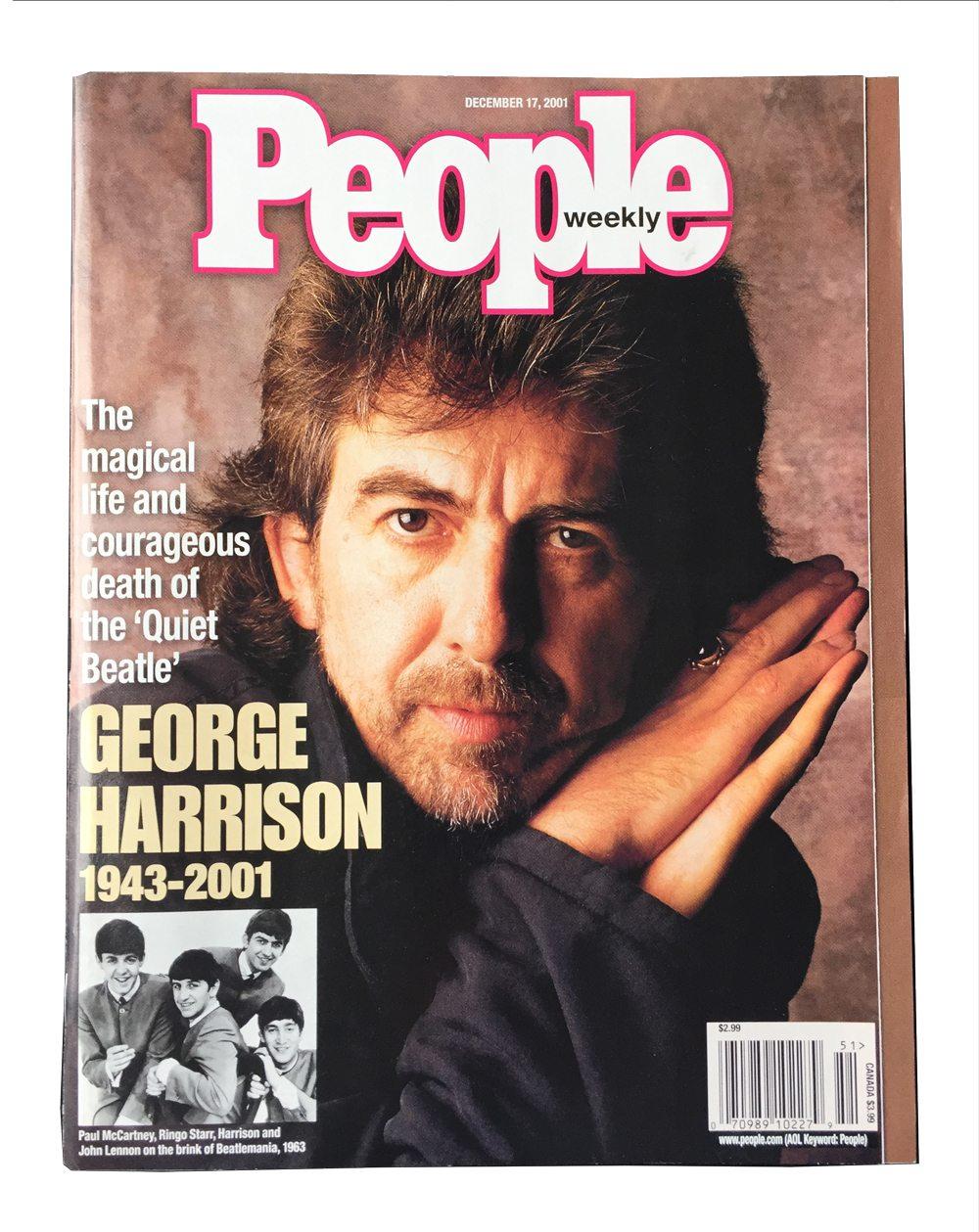 People Magazine George Harrison 2001