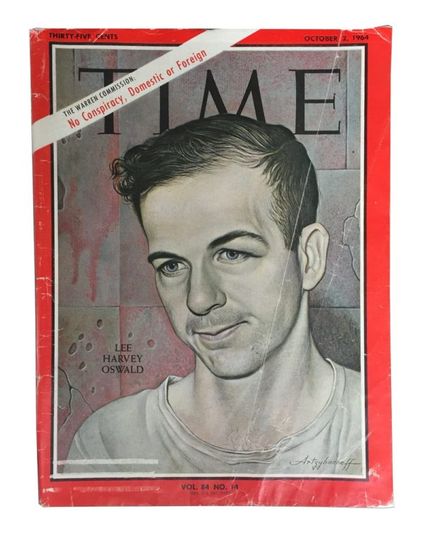 Time Magazine 1964 Lee Harvey Oswald