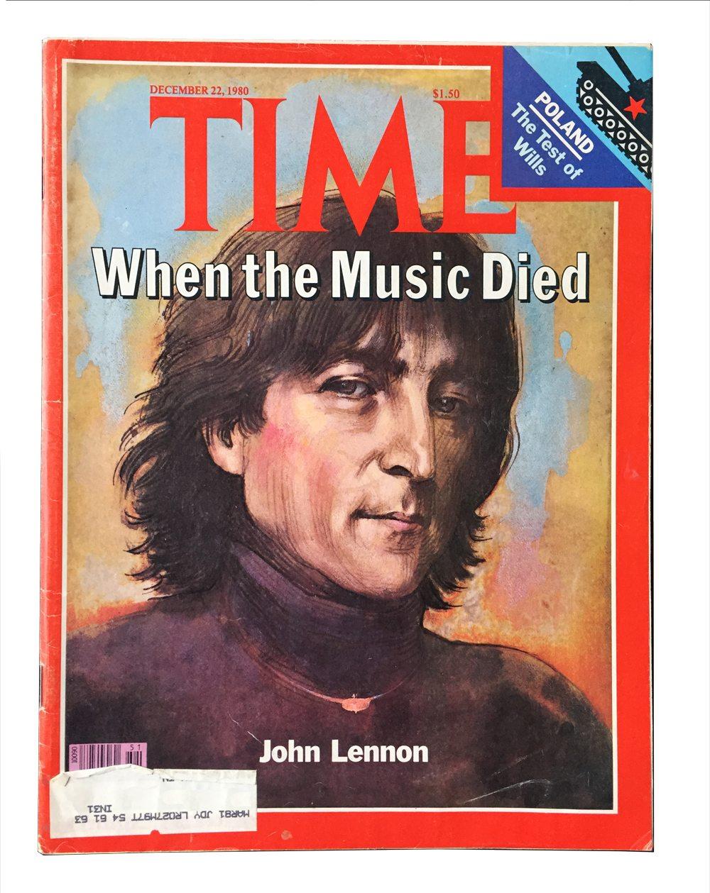Time Magazine 1980 John Lennon