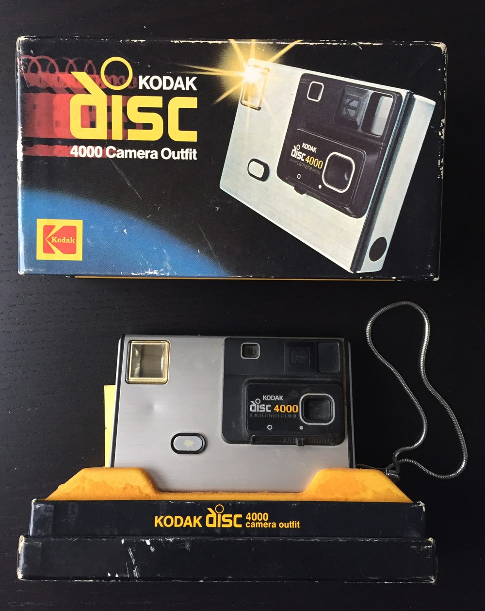 Vintage camera Kodak disk 4000 in original box
